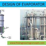 DESIGN OF EVAPORATOR