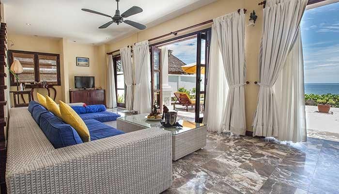 Beach Front privat vila