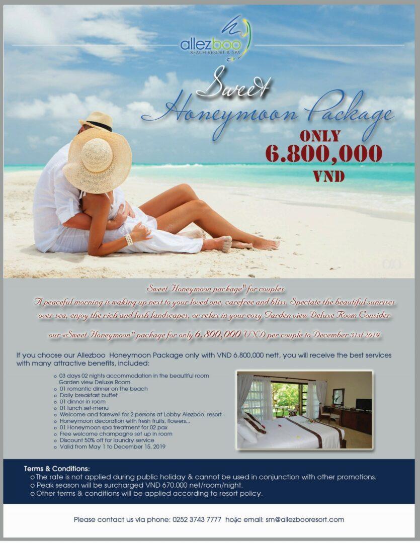 Honeymoon offer