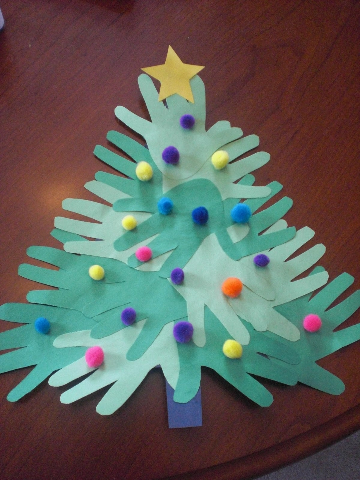 paper tree gift