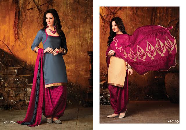 cotton patiala salwar suits