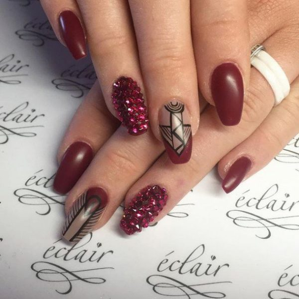 nail designs for winter
