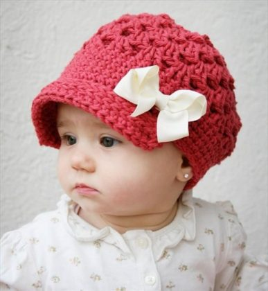 Handmade Crochet Baby Hats For Winter Season 2015-16