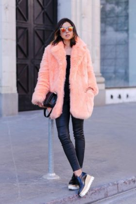 faux fur coat designs