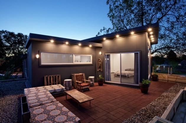 Industrial exterior designs