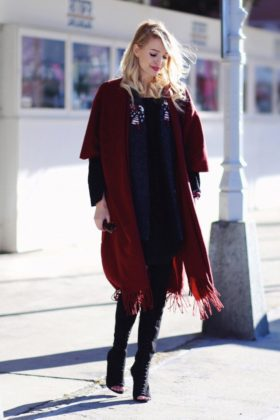 winter casual styling