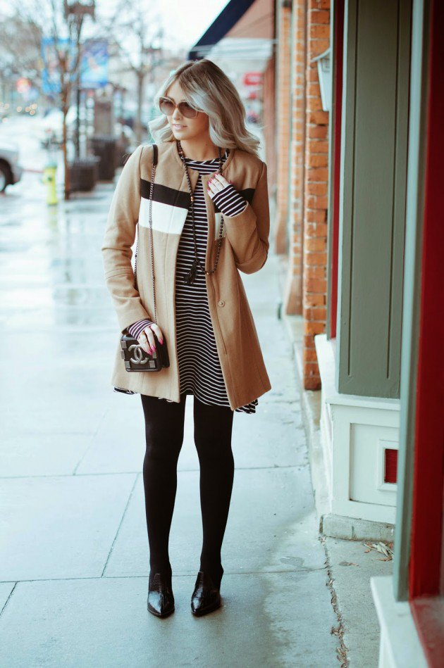 women winter styling