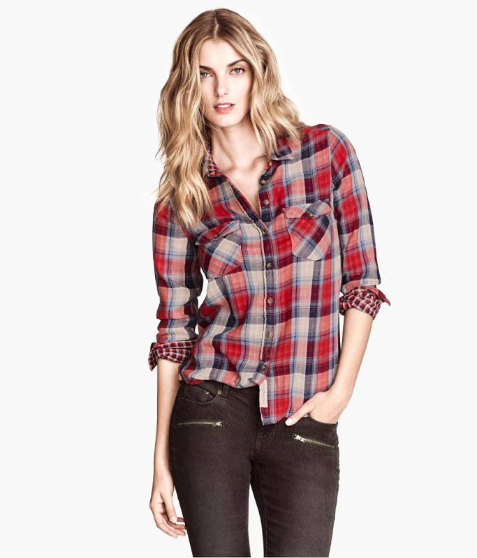 Plaid Shirts For Women To Be Worn In Spring Season