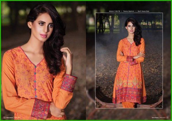 Taana Baana Summer Shalwar Kameez Dresses 2016