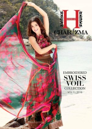 Embroidered Swiss Voile Charizma Collection 2016 Fashion Pakistan