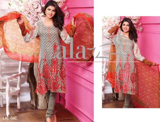 Lala Classic Embroidered Summer Collection