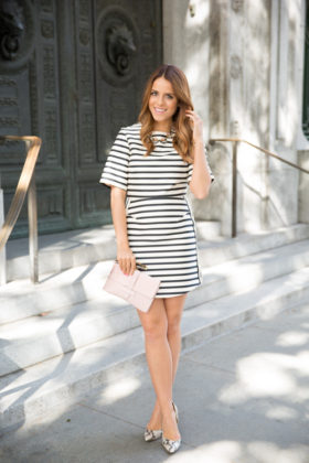 Stripped Dress Designs You Will Love To Wear