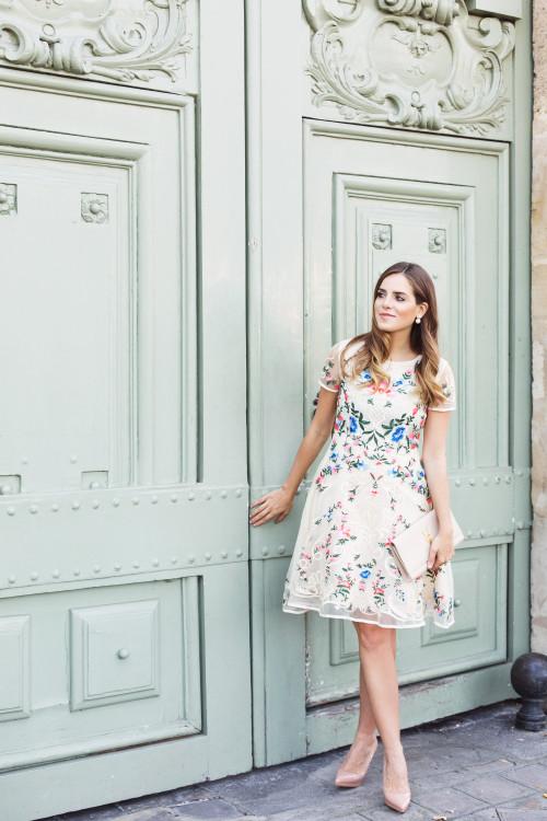 Summer Embroidered Dress