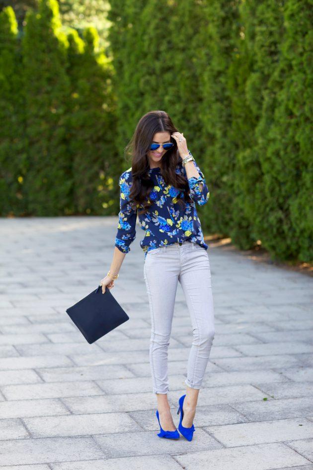 Vibrant Color Heels