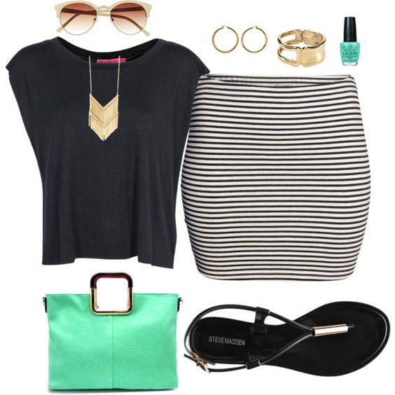 Plus Size Outfits Polyvore Combos For Summer Season