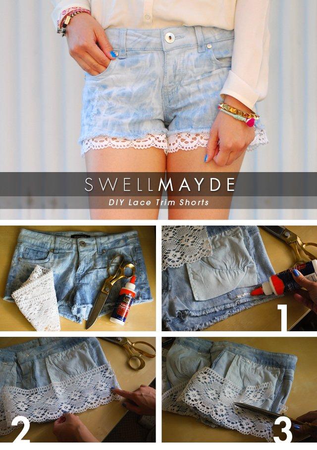 DIY Shorts Ideas For Autumn Season Clothing 2016-17 4