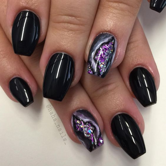 Geode Nail Designs New Trend For Summer 2017
