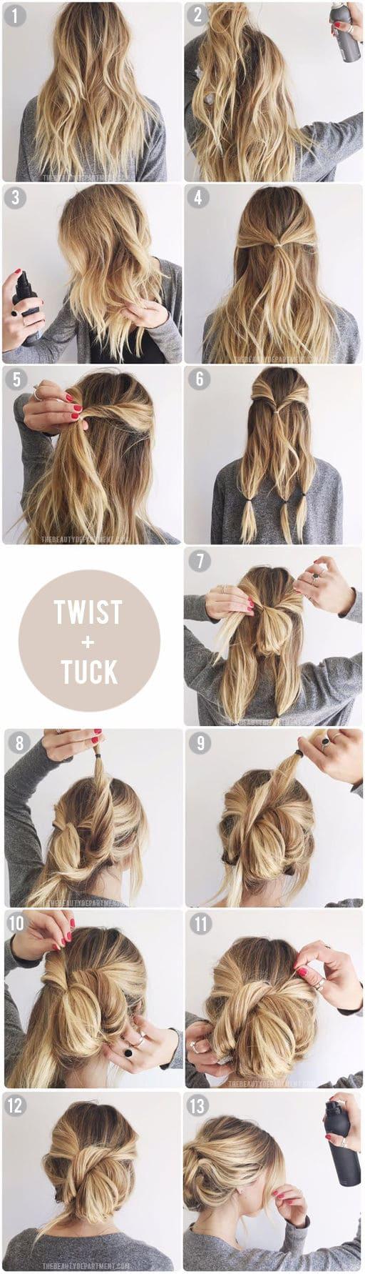 10 Best Hair Tutorials Girls Should Try This Summer 2017