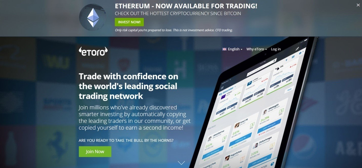 etoro review cryptocurrency