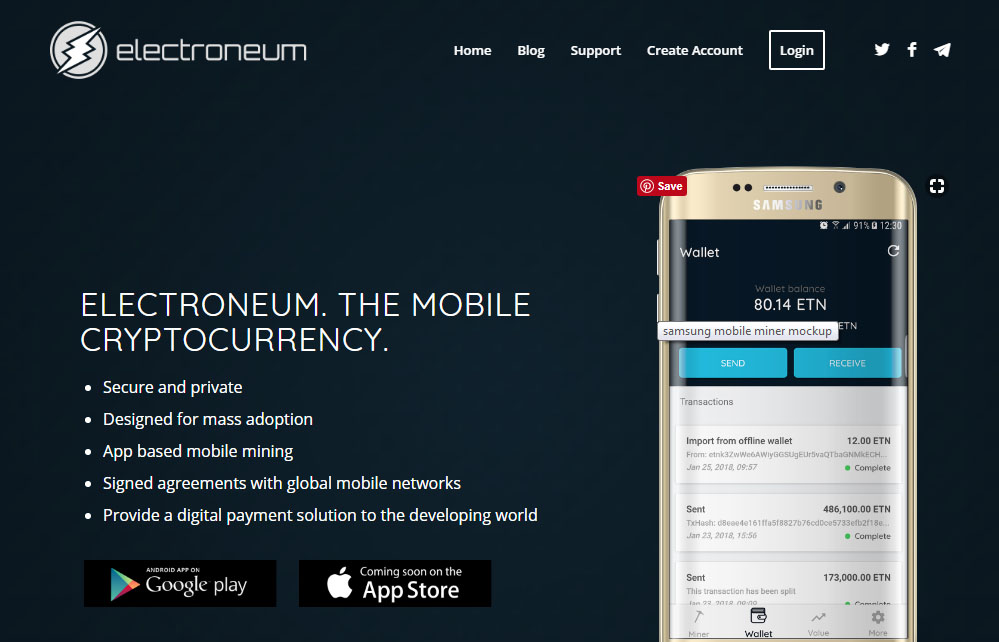 electroneum cryptocurrency exchange