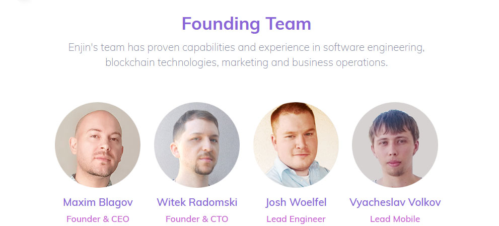 Enjincoin team