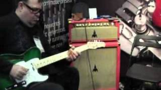 Electroplex Amplifiers 2011 NAMM –  Soundbite 01