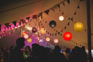 Oxford Tent Company Party in a marquee Oxford Tent Company