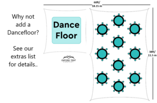 Oxford Tent Company wedding party dance floor Oxford Tent Company
