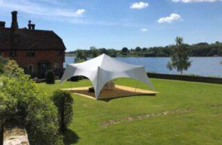 Oxford tent company small marquee for hire Oxford Tent Company