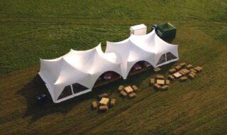oxford tent company capri marquee field Oxford Tent Company