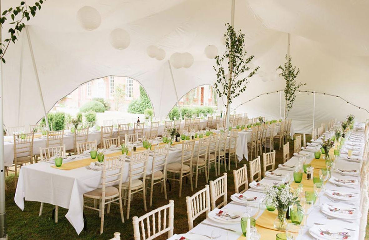 oxford tent company capri marquee table decorations