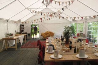 6m by 12m Anniversary marquee Oxford Tent Company