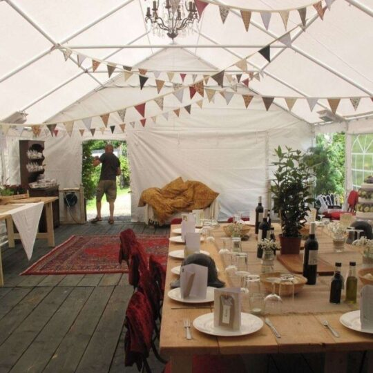 Clear Span Marquee Oxford Tent Company