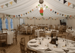 6m by 12m Birthday marquee Oxford Tent Company