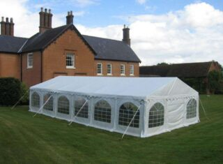6m by 12m Garden Party marquee Oxford Tent Company