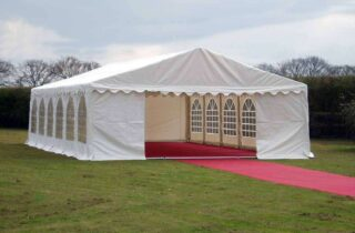 6m by 12m wedding marquee flooring Oxford Tent Company