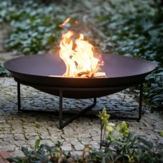 Fire Pit marquee hire Oxford Tent Company