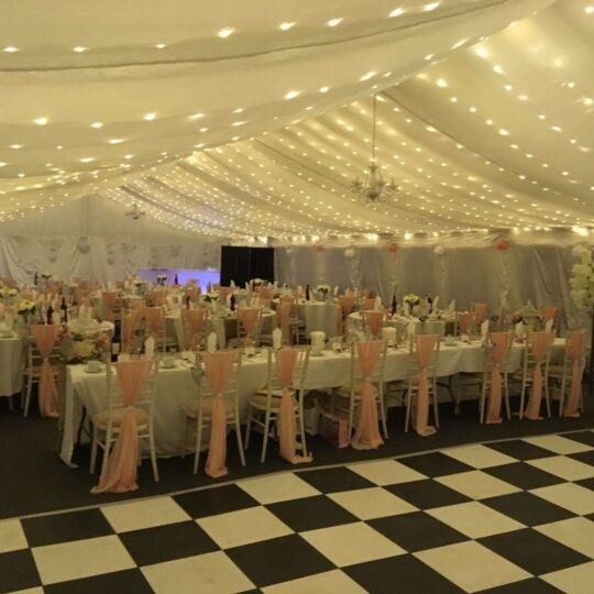 marquee Furniture Oxford Tent Company