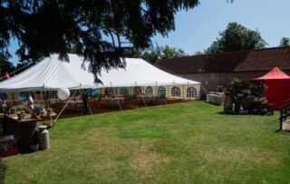 Traditional marquee hire oxford Oxford Tent Company