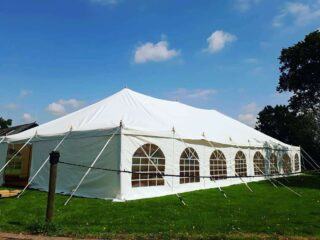 Traditional marquee hire oxford party Oxford Tent Company