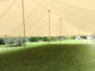 Traditional marquee wedding tent oxfordshire Oxford Tent Company