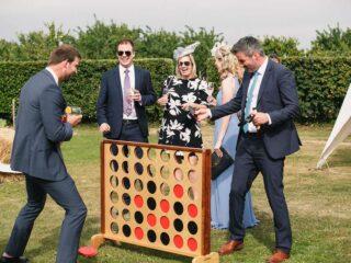 Wedding-Garden-Games-connect-4 Oxford Tent Company