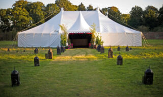 chinese-hat-marquee Oxford Tent Company Oxford Tent Company