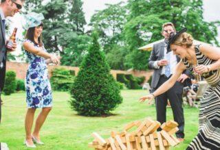 garden entertainment wedding Oxford Tent Company