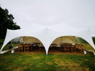 2030 wedding marquee Oxford Tent Company