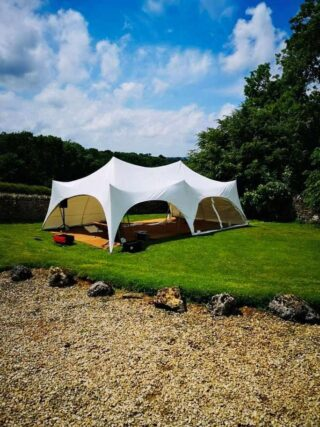 20x30 Marquee afteroon lunch Oxford Tent Company