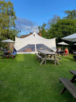 28ft by 38ft Capri Marquee Wedding Oxford Tent Company