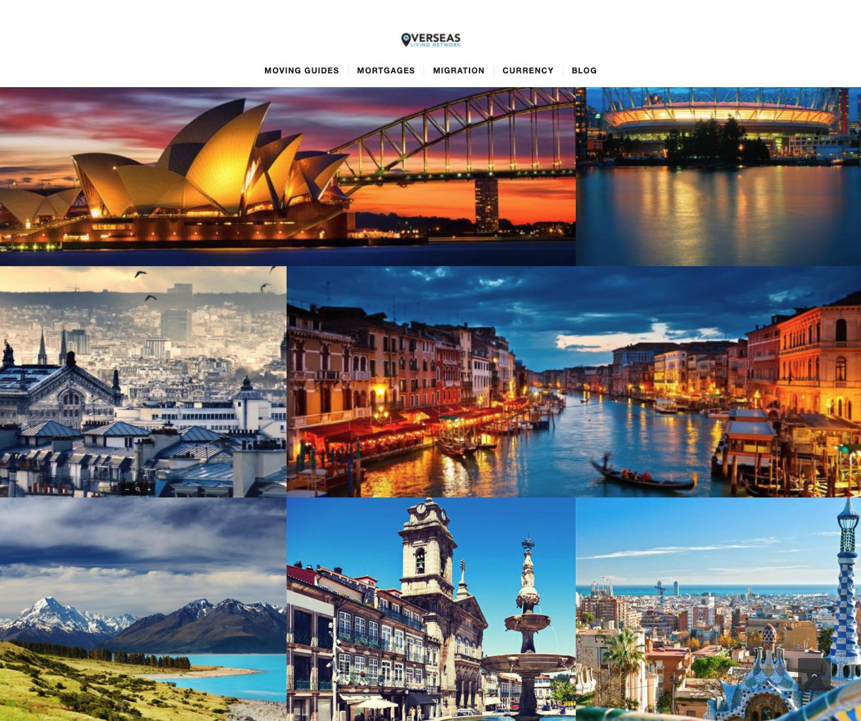 Overseas Living Network Web