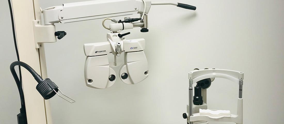 Instrument för synundersökning hos Selmas optik