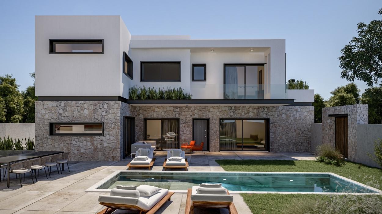 Carob House Feature